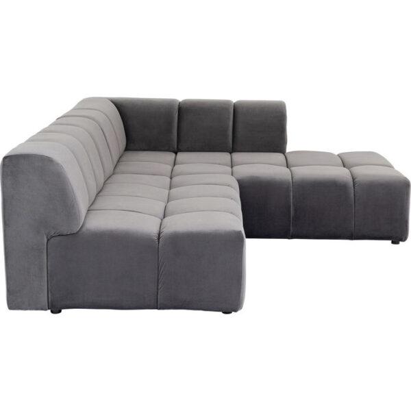 Kare Design Hoekbank Belami Grey Right hoekbank 85499 - Lowik Meubelen
