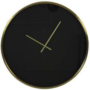 IN.House Klok Seponi zwart goud  Woonaccessoire