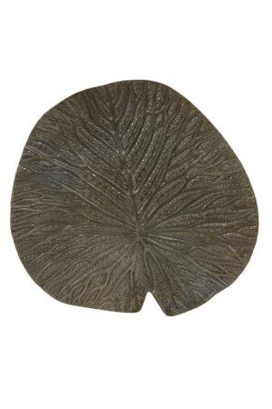 IN.House Ornament Leaf antiek brons  Woonaccessoire