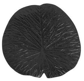 IN.House Ornament Leaf zwart  Woonaccessoire