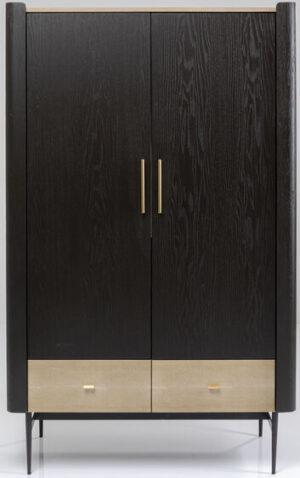 Kare Design Kledingkast Milano 180x110 kledingkast 85386 - Lowik Meubelen