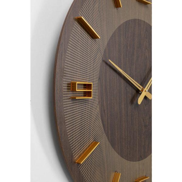Kare Design Klok Levi Brown - Ø60 klok 53214 - Lowik Meubelen