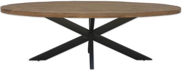 Livingfurn DT - Brix Sturdy Oval 180cm  Eettafels