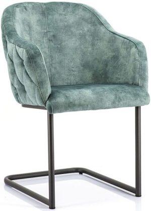 Paulette stoel - groen uit de Eleonora collectie