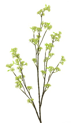 Profijt Meubel Kunstbloem Blossom spray green 126cm