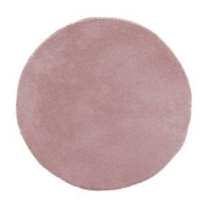 Profijt Meubel Rond vloerkleed Ø80 Huntsville oud roze  Vloerkleed