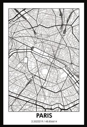 Profijt Meubel Wanddecoratie Paris  Wanddecoratie