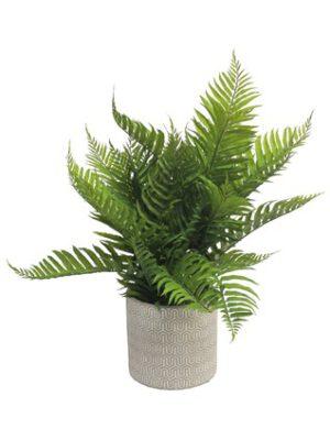 Profijt Meubel Woonaccessoire Forest Fern pot green 60cm