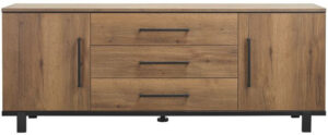 Pronto Wonen Dressoir Adanti (220cm breed) tabacco decor  Kast