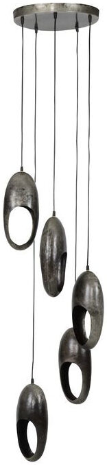 Pronto Wonen Hanglamp Soltino oud zilver  Lamp