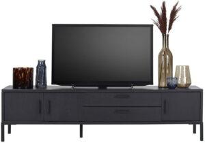 Pronto Wonen TV meubel Elance (180 breedte) black  Kast