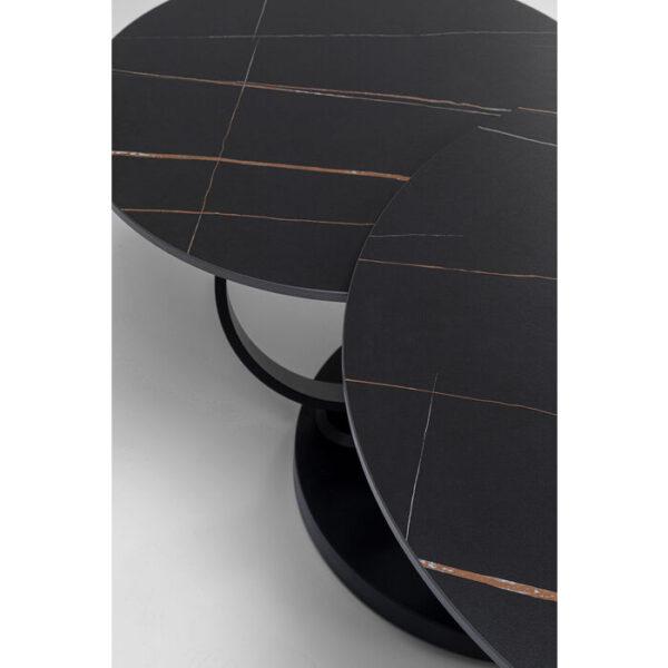 Kare Design Salontafel Beverly black 133x80cm salontafel 85504 - Lowik Meubelen