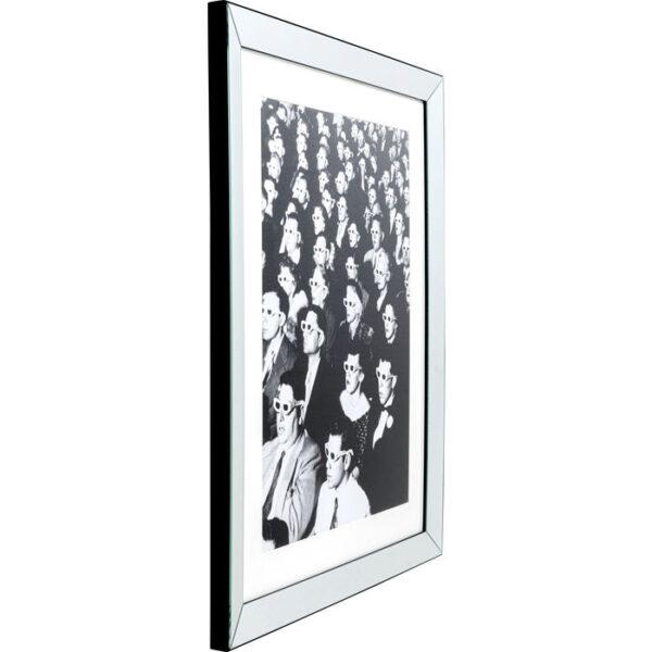 Kare Design Schilderij Framed Audience 85x105cm schilderij 53050 - Lowik Meubelen