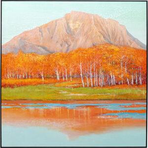 Kare Design Schilderij Framed Autumnal 120x120cm schilderij 52969 - Lowik Meubelen