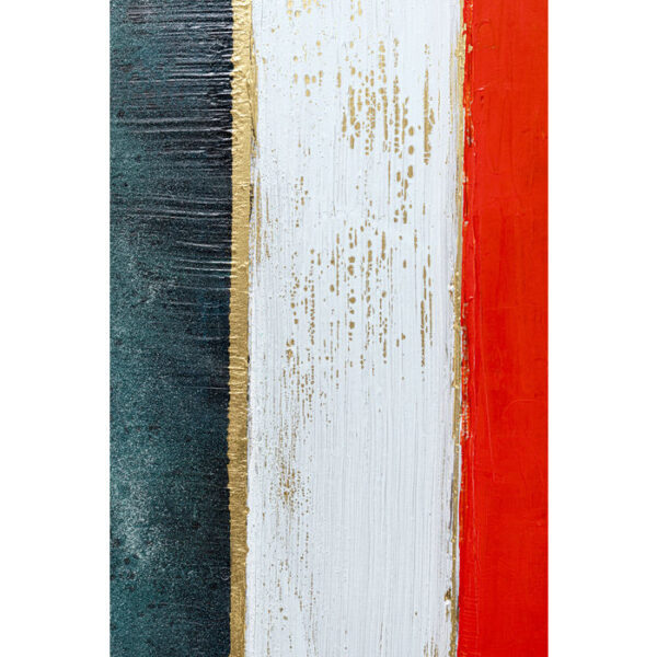 Kare Design Schilderij Framed Color Blocking 100x120cm schilderij 52971 - Lowik Meubelen