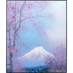 Kare Design Schilderij Framed Fuji 100x120cm schilderij 52968 - Lowik Meubelen