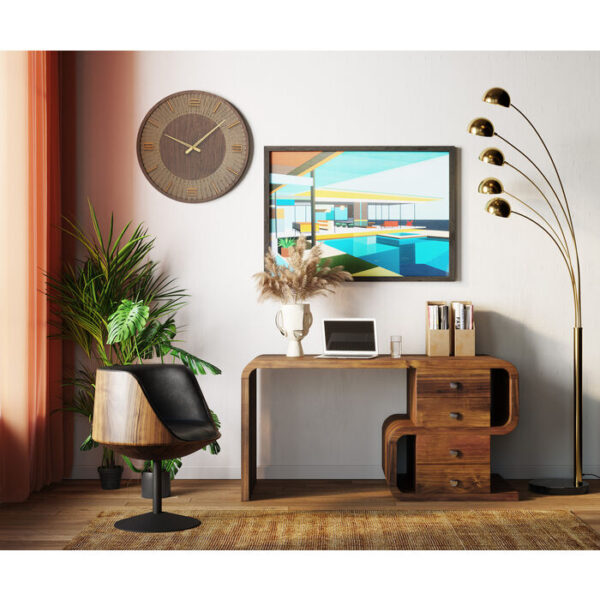 Kare Design Schilderij Framed Modern Architecture 80x100cm schilderij 53053 - Lowik Meubelen