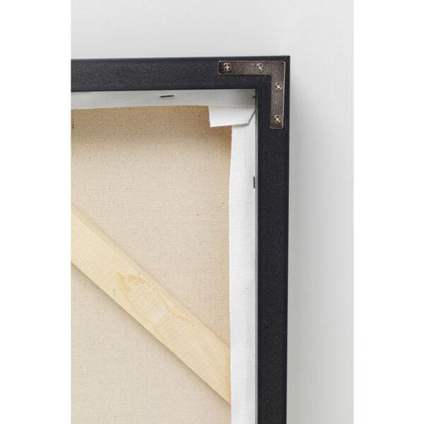 Kare Design Schilderij Framed Splotch 100x100cm schilderij 52965 - Lowik Meubelen