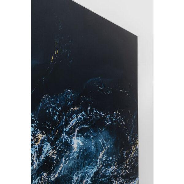 Kare Design Schilderij Glas Blue Portal 150x100 schilderij 52621 - Lowik Meubelen