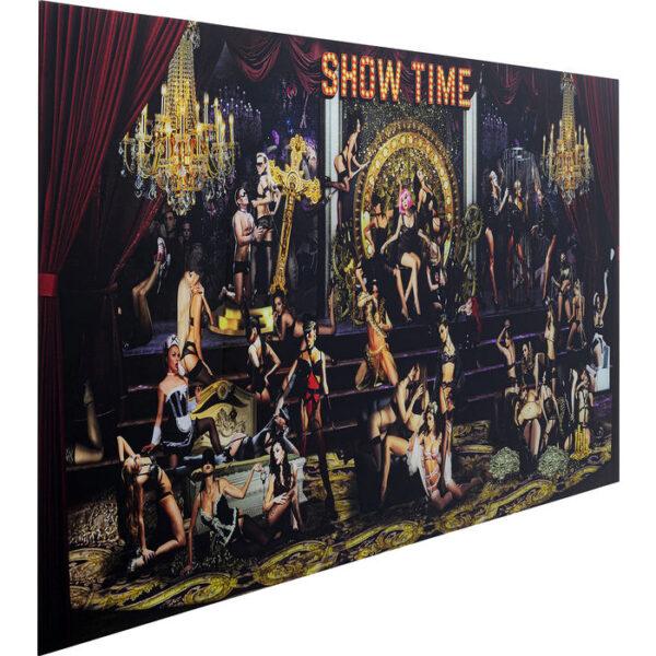 Kare Design Schilderij Glas Showtime 180x90 schilderij 52587 - Lowik Meubelen