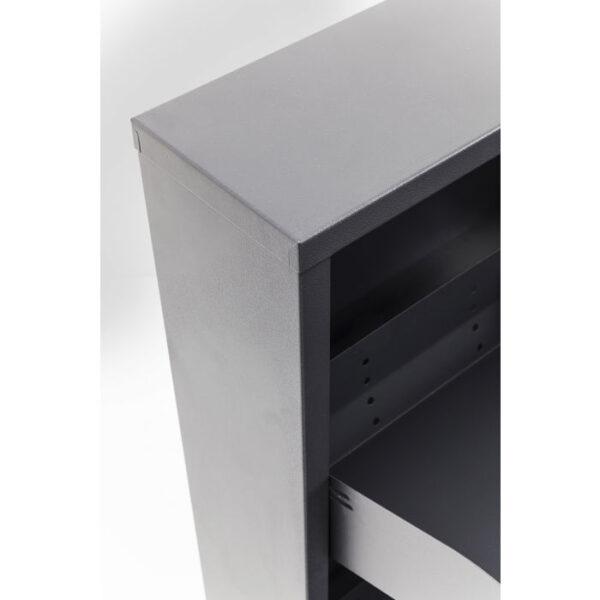 Kare Design Schoenenkast Caruso 3 Anthracite - (MO) schoenenkast 42565 - Lowik Meubelen