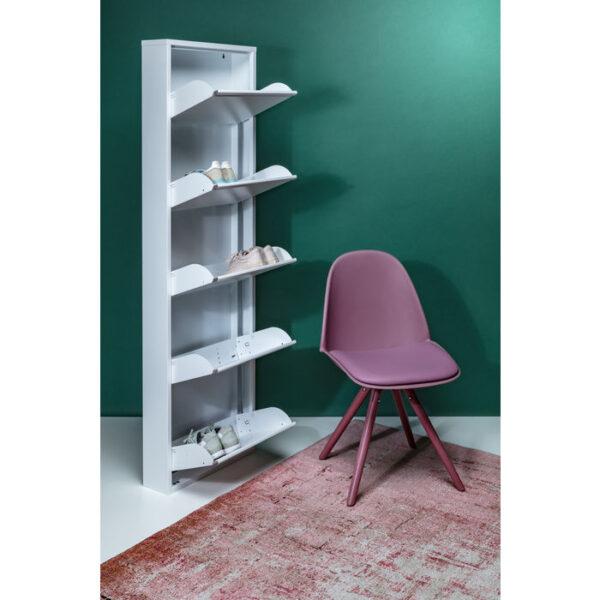 Kare Design Schoenenkast Caruso 5 White - (MO) schoenenkast 49288 - Lowik Meubelen