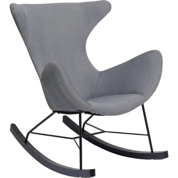 Kare Design Schommelstoel  Balance Grey schommelstoel 85268 - Lowik Meubelen