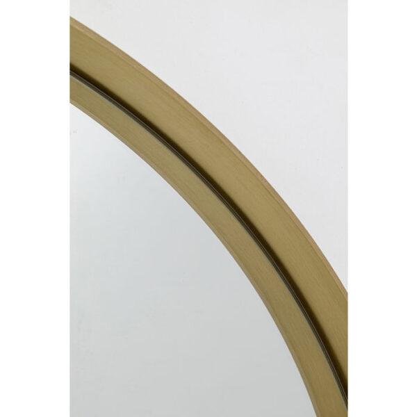 Kare Design Spiegel Curve MO Brass - Ø60 spiegel 85280 - Lowik Meubelen