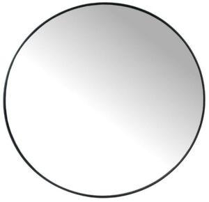 Spiegel metaal zwart rond - 80cm uit de IN.House collectie