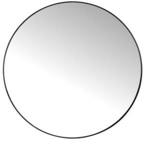 Spiegel metaal zwart rond - 96cm uit de IN.House collectie