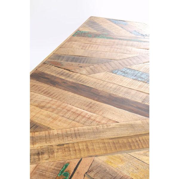 Kare Design Tafel Abstract Acier Brut 180x90 eetkamertafel 85241 - Lowik Meubelen