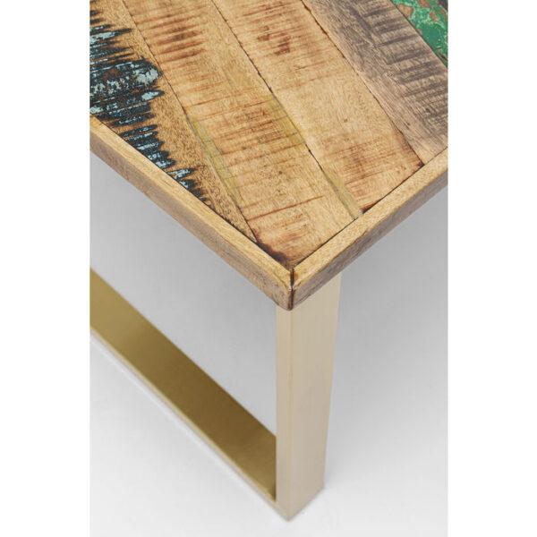 Kare Design Tafel Abstract Brass 180x90 eetkamertafel 85240 - Lowik Meubelen