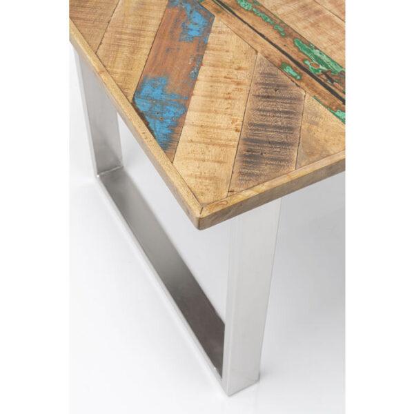 Kare Design Tafel Abstract Chrome 180x90 eetkamertafel 85231 - Lowik Meubelen