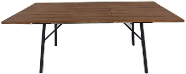 Kare Design Tafel Maui 150- (+50)x90 eetkamertafel 85637 - Lowik Meubelen