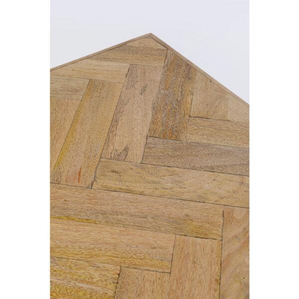 Kare Design Tafel Parquet Black 180x90 eetkamertafel 85245 - Lowik Meubelen