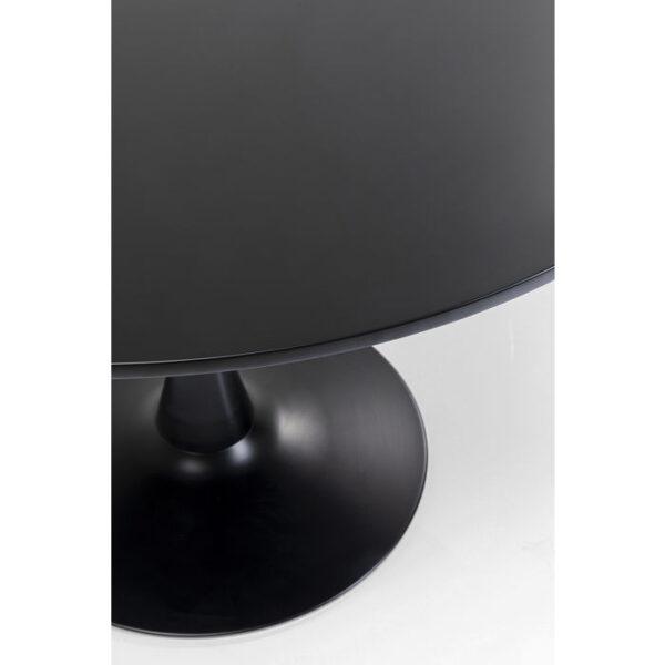 Kare Design Tafel Schickeria Black - Ø110 eetkamertafel 85503 - Lowik Meubelen