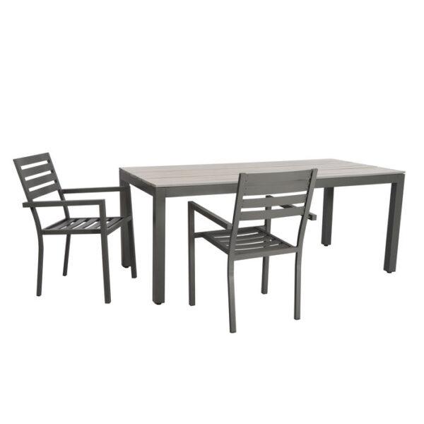 Kare Design Tafel Sorrento 180x90cm eetkamertafel 85666 - Lowik Meubelen