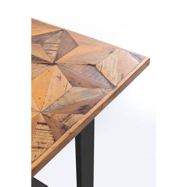 Kare Design Tafel Stars Black 180x90 eetkamertafel 85248 - Lowik Meubelen