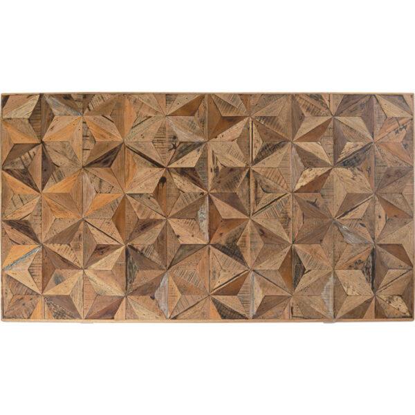 Kare Design Tafel Stars Brass 180x90 eetkamertafel 85246 - Lowik Meubelen