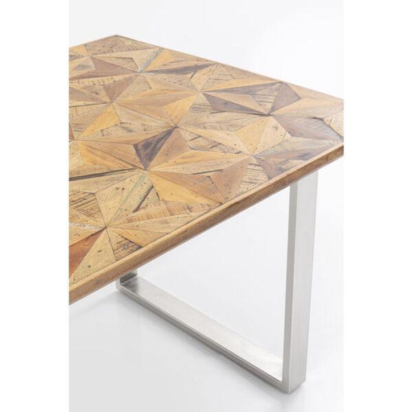 Kare Design Tafel Stars Chrome 180x90 eetkamertafel 85233 - Lowik Meubelen