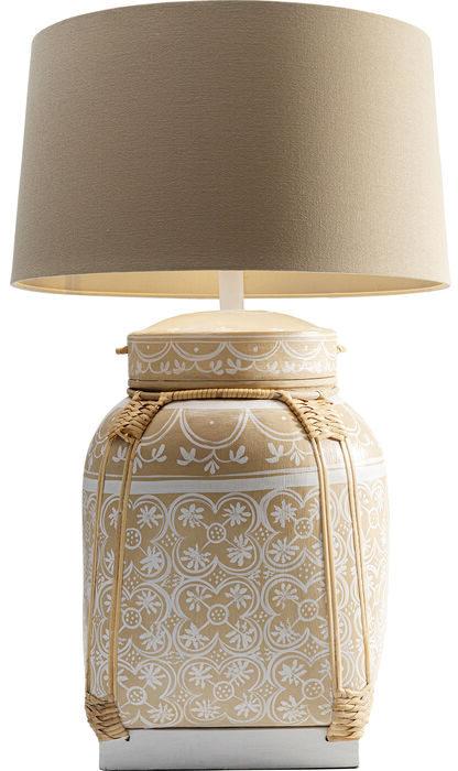 Kare Design Tafellamp Basket Cream tafellamp 52795 - Lowik Meubelen