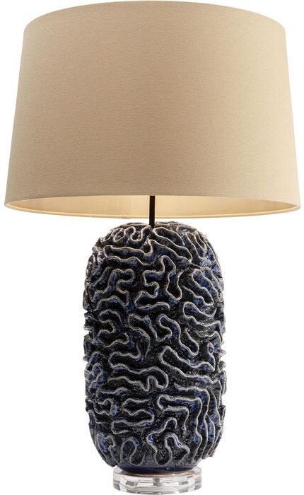 Kare Design Tafellamp Waterflow Blue tafellamp 52797 - Lowik Meubelen