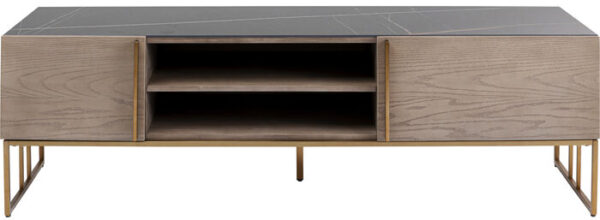 Kare Design Tv-dressoir Cesaro 160x50cm tv-dressoir 85859 - Lowik Meubelen