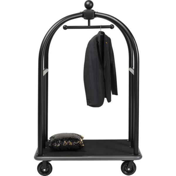 Kare Design VIP Baggage Trolley Vegas Matt Black woonaccessoire 84534 - Lowik Meubelen
