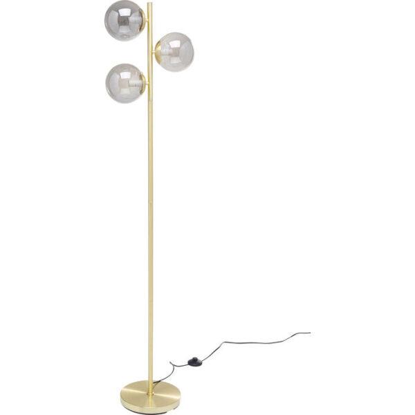 Kare Design Vloerlamp Three Balls Gold 160cm vloerlamp 53106 - Lowik Meubelen
