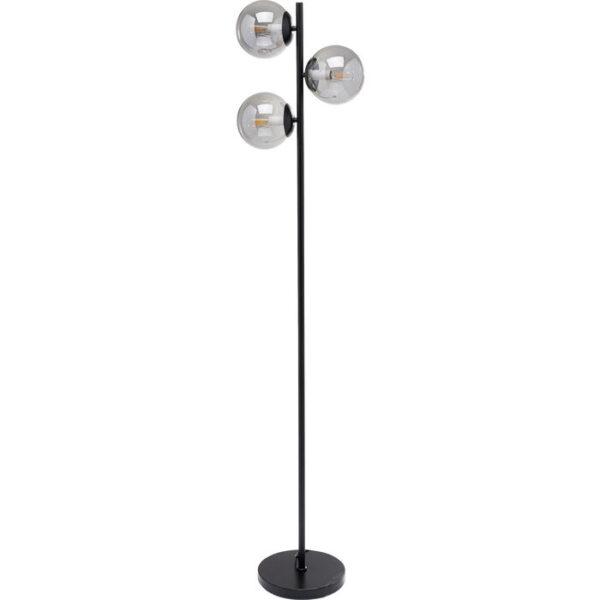 Kare Design Vloerlamp Three Balls Matt Black 160cm vloerlamp 53107 - Lowik Meubelen