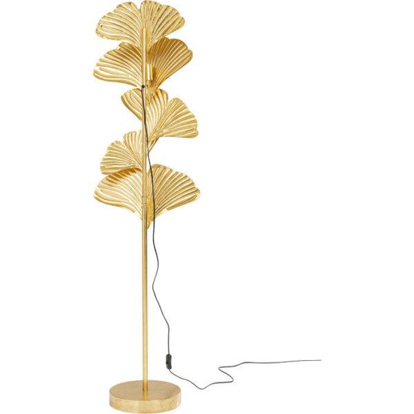 Kare Design Vloerlamp Yuva Gold vloerlamp 52887 - Lowik Meubelen