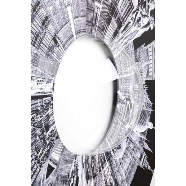 Kare Design Wanddecoratie City Pupil - Ø160cm wanddecoratie 52980 - Lowik Meubelen