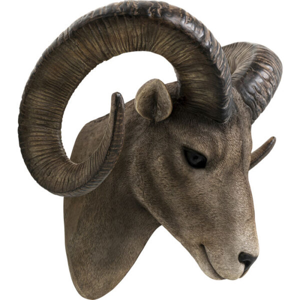 Kare Design Wanddecoratie Goat Head wanddecoratie 52922 - Lowik Meubelen