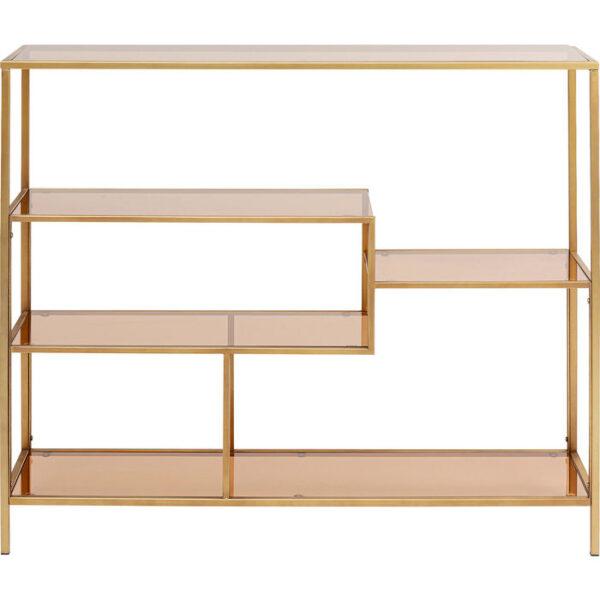 Kare Design Wandkast Loft Gold 100x115 wandkast 85486 - Lowik Meubelen